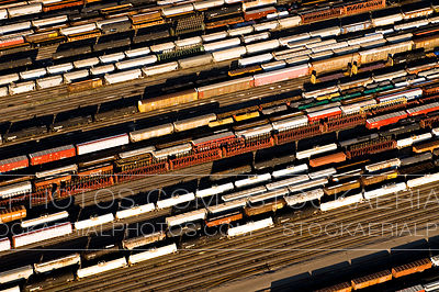 Train Switching Yard