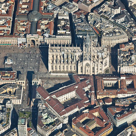 Milan, Italy: More Than Just a Pretty Face aerial photos