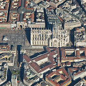 Milan aerial photos