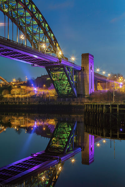 Reflections in the Tyne
