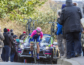 The Cyclist Marko Kump - Paris-Nice 2016