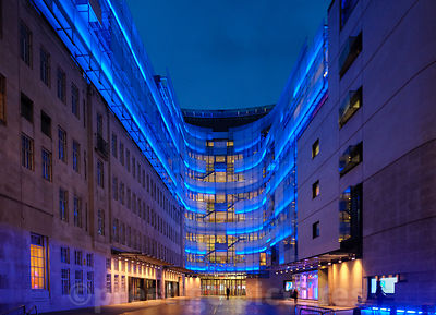 BBC New Broadcasting House formerly known as The John Peel Wing