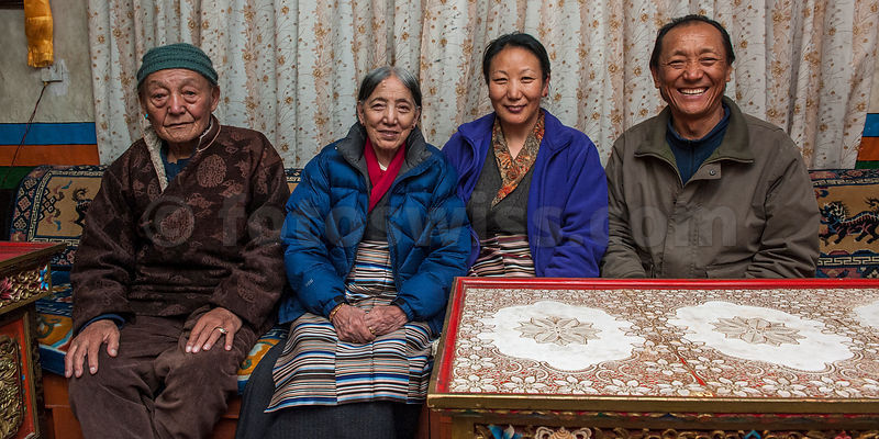 Nepal Mustang Lo Manthang Royal Family photos