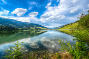 Lake Reflection - schwarzsee