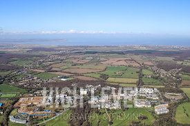 Aerial Photography Taken In and Around Canterbury-University of Kent