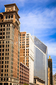 Chicago Michigan Avenue Buildings