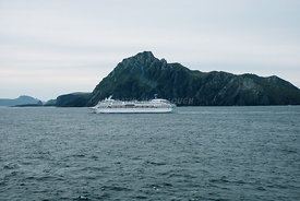 Cruise ship at Cape Horn off SA