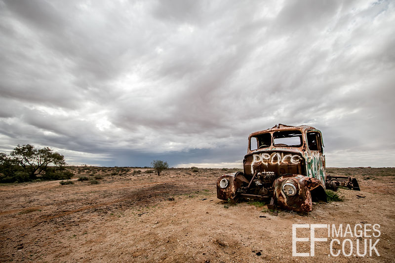One Of Many Many Abandoned Wrecks In The Red Center