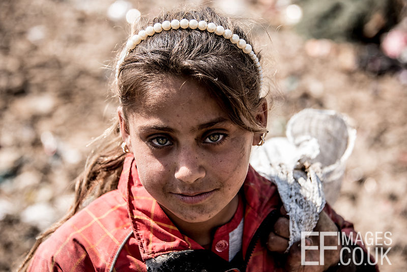 OUT OF MOSUL, INTO THE DUMP - MUD, FLIES AND TRASH PRINCESSES Out of Mosul, into the dumps
