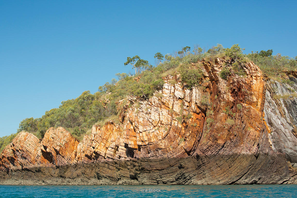 A rock formation in Austalia's Kimberley.