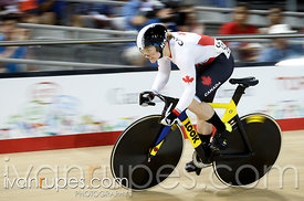 Women's Sprint Qualification, Track Day 3, Toronto 2015 Pan Am Games, Milton Pan Am/Parapan Am Velodrome, Milton, On; July 18, 2015