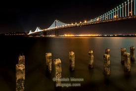 Bay Bridge, San Francisco, CA, USA