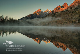 Misty Teton Sunrise