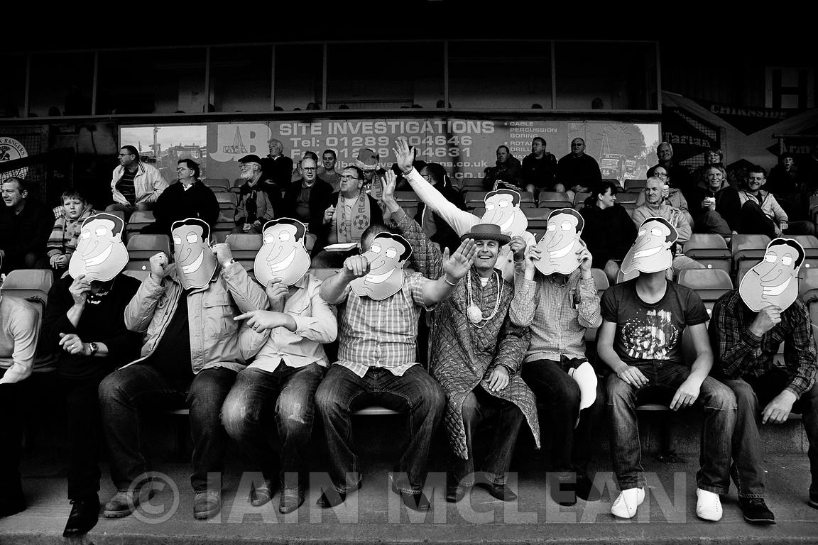 Albion Rovers..Shielfield Park, Berwick..7.5.11.Berwick Rangers 2-2 Albion Rovers..Picture Copyright:.Iain McLean,.79 Earlspark Avenue,.Glasgow.G43 2HE.07901 604 365.photomclean@googlemail.com.www.iainmclean.com.All Rights Reserved.