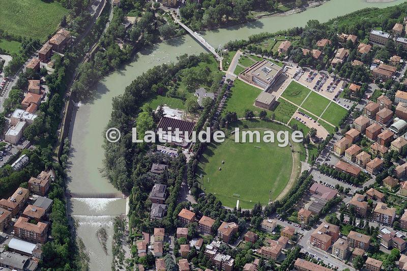 Latitude image city center casalecchio di reno aerial photo for Hotel a casalecchio di reno