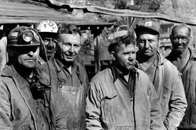 Group of striking miners, WVA