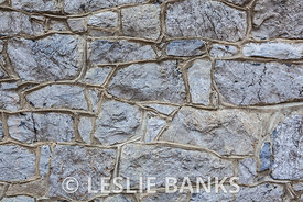 Irregular Stone Wall Background