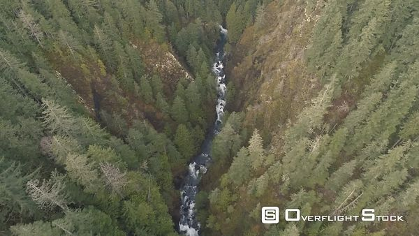 Fly down Quilcene River, Quilcene, WA