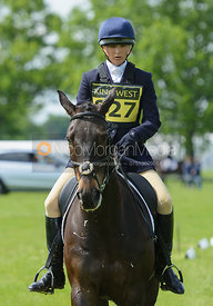 Lissa Green and MALIN HEAD CLOVER - Rockingham Castle International Horse Trials 2016