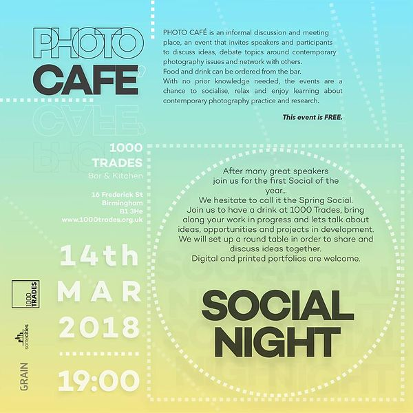 PhotoCafe Social Evening - March 14th Pictures