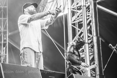 Fred Durst of Limp Bizkit Aftershock 2014