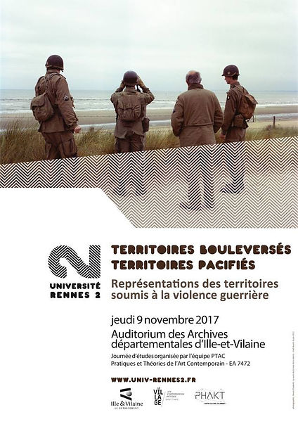 Conferences Territoires bouleversés, territoires pacifiés photos