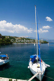 Spilia Harbour, Meganisi Island, Lefaka, Ionian Islands, Greece.