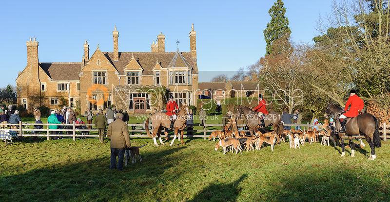 The Belvoir Hunt at Eaton Grange 2/1 photos