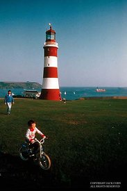 England, Plymouth light house