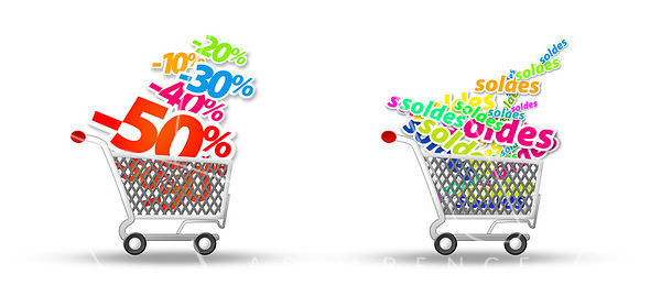 icones caddy Soldes - icone e-commerce