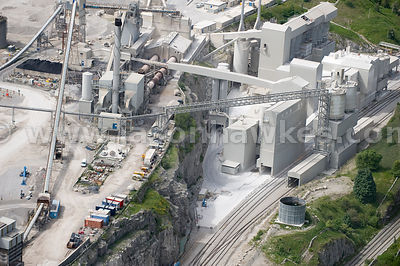 Buxton Cement Plant, Peak District, Derbyshire