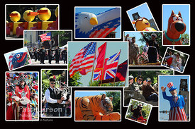 2013 Memorial Day Parade Collage