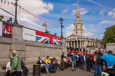 Trafalgar Square on Sunday May 11 2015