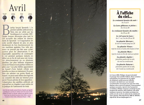 GUIDE DU CIEL A L'ŒIL NU 2003 - Guillaume Cannat photos