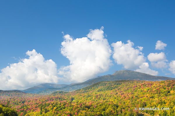 MOUNT WASHINGTON WHITE MOUNTAINS NEW HAMPSHIRE FALL COLORS