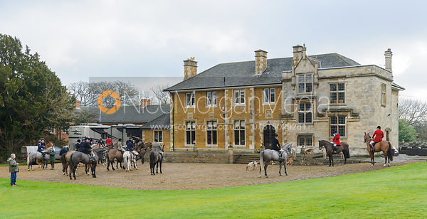 LIttle Dalby Hall - The Cottesmore Hunt at Little Dalby 7/2