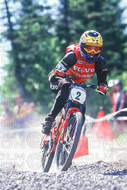 MISSY GIOVE FINAL MONT STE ANNE, QUEBEC, CANADA. GRUNDIG DOWNHILL WORLD CUP 1997