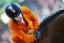 VLEUTEN, Maikel van der, (NED), VDL Groep Verdi TN N.O.P. during First round Team competition at Alltech World Equestrian Games at Stade Michel D' Ornano, Caen - France
