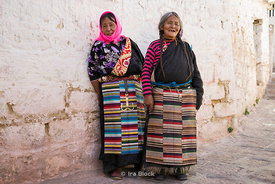 Local women at Dreprung Monastery in Lhasa, Tibet.