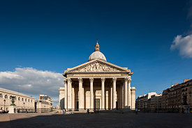Pantheon Place, Paris