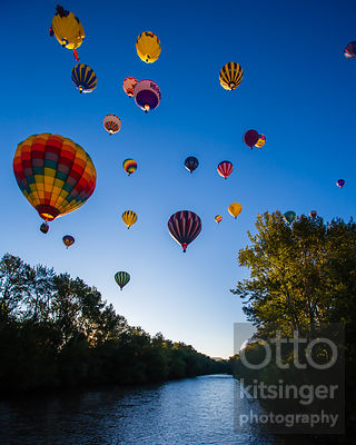 balloons over the boise river