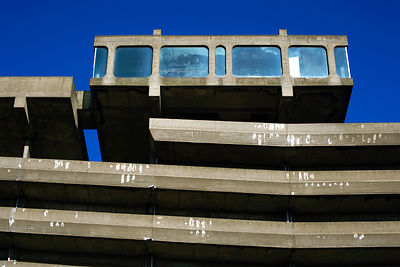 Gateshead Get Carter Car Park by Owen Luder Architects