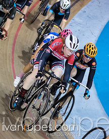 U17 Women Points Race. Canadian Track Championships (U17/Junior/Para), April 1, 2017