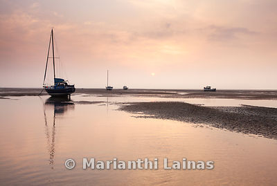 Sunset at Meols