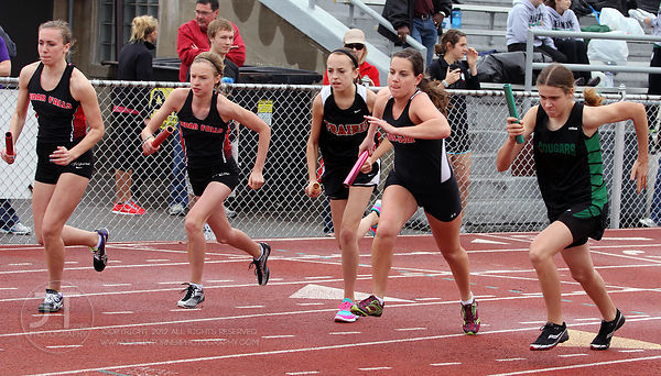 J-Hawk Early-Bird Girls Track Meet