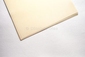 Detail of Notepad in Yellowish Paper.