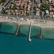 Marina di Massa aerial photos