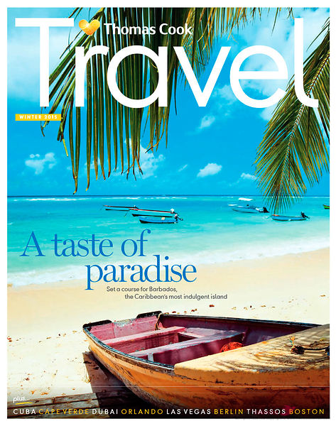 Thomas Cook Travel Magazine 11-2015 cover Barbados