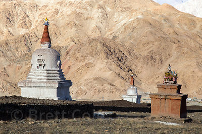Stupa near Hemis Gompa, Ladakh, India