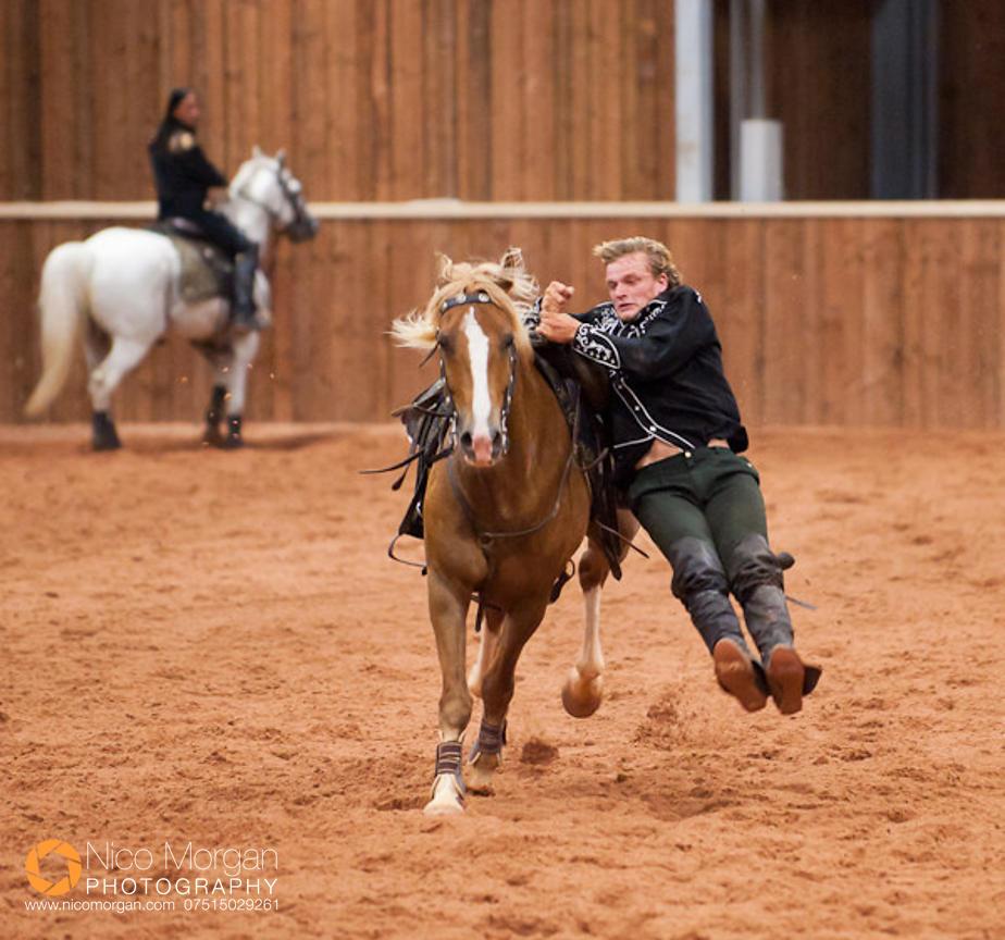 Image Rockin 39 Horse Stunt Riders Nico Morgan Media